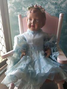 Antique Vintage Celluloid Doll Palitoy Elizabeth Princess Baby