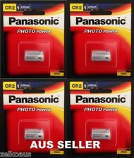 4 Genuine Panasonic Cr2 Lithium 3v Battery for Photo Camera Cr-2w/1be