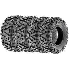 Full Set of 4  SunF 25x8-12 25x10-12  All Terrain ATV UTV Tires 6 Ply A033 POWER