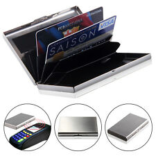 Men Women Aluminum Slim ID Credit Card RFID Protector Holder Purse Wallet Secure