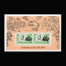 New Hebrides British, Sc #266a, MNH, 1979, S/S, UPU, Sir Rowland Hill, AR5FXcx