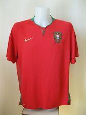 Portugal team 2008/2009/2010 home XL shirt jersey NIke soccer football maillot