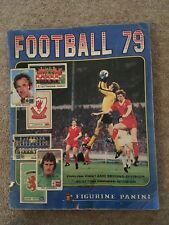 Panini Football 79 Sticker Album Complete