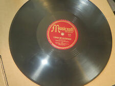 78RPM Musicraft Sarah Vaughan, Cover Waterfront / Stand Ghost Chance With U V V+