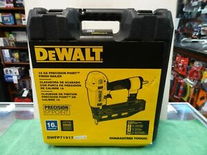DEWALT Precision Point 16 Gauge 2-1/2 in. Finish Nailer Kit DWFP71917 New