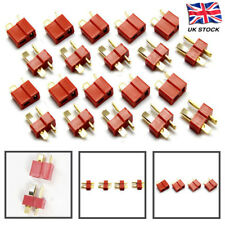 10 x PAIRS Deans T Plug Gold RC Connectors Battery connector Switches Connectors