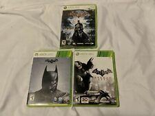 XBOX 360 Batman video games