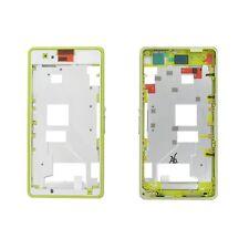 Carcasa Intermedia Sony Xperia Z1 Compact D5503 Amarillo Original Nuevo