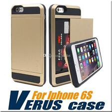 Verus Slide iPhone Case with Card Slot Wallet ID back cover Silicone & Plastic