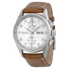 Hamilton Silver Wrist Watch for Men Auto Chrono
