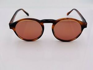 Vintage B & L Ray-Ban W0931 Tortoise Round Sunglasses USA FRAMES ONLY