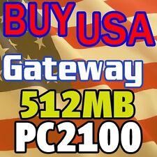 512MB Gateway 400SP Plus 400VSP 400VTX 600E MEMORY RAM
