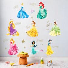 Dancing Princess Castle Wall Stickers For Kids Room Living Room Window Cartoon