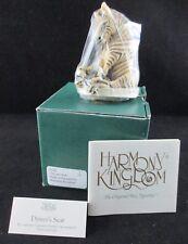 Harmony Kingdom Driver's Seat Zebra Treasure Jest Retired Tjze Nib