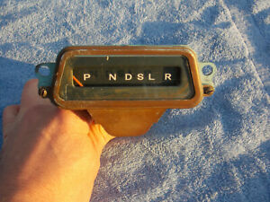 1964 Pontiac Bonneville shift indicator