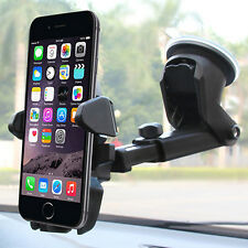Easy One Touch Car 360° Windshield Mount Holder for Mobile Phone i Phone Sam sun