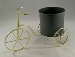 Table Top Planter Bicycle Tricycle For Plants Succulents Garden Metal Holder New