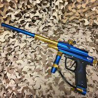 *USED* Azodin Kaos-D (Deluxe) II 2 Semi Mechanical Paintball Marker - Blue King