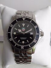 Tag Heuer 1500 Submariner WD1210-G-2 Vintage Condition Full Zize 100% Swiss Made