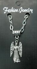 "20"" or 24 Inch Necklace & Archangel Samuel Guardian Angel Samael Sammael Samil"