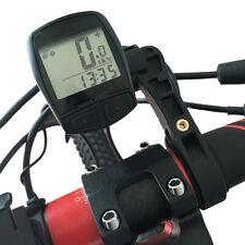 Multi Bicycle Handlebar Extended Bracket Computer LED horn Headlight Supp_QA