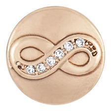 Petite Ginger Snap Rose Gold Infinity Gp04-20 Buy 4, Get 5th $5.95 Snap Free -