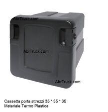 CASSETTA PORTA ATTREZZI 35 35 35 TERMO PLASTICA CAMION TRATTO TRUCK UNIVERSALE