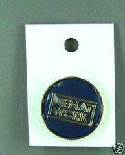 Rare Vintage Men at Work dark blue enamel pin Condition New