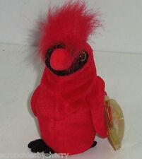 Mac Cardinal Ty Beanie Baby Babies Bird 1999 Retired