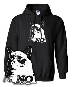 SWEATSHIRT * THE GRUMPY MEME CAT | meme | NO | Katze Hoodie Kitty Kapuzenpulli