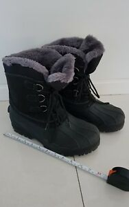 ARCTIC STAR SNOWBOARD SHOES, UNISEX, BLACK, Size US 9, PRE OWNED as NEW $69.00