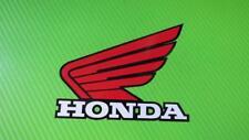 Honda Wings + Outline for Track bike or road fairing Stickers PAIR 11B