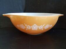 Vintage Pyrex Bowl Butterfly Gold #444  4qt. EXCELLENT!