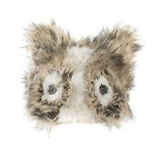 Faux Fur Unisex Ladies Animal Winter Hat Head band, Squirrel