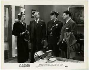 Post Office Investigator 1949 Original Photo - Audrey Long Jason Robards