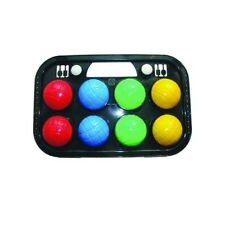Orbit 8 Piece Bocce Ball Set In Case Perfect Bocce Set for Beginners