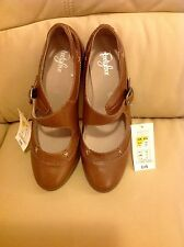 MARKS & SPENCER LEATHER FOOTGLOVE SHOES - SIZE 6 BNWT RRP £45