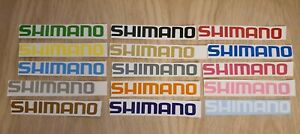 Shimano  MTB BMX Stickers Cycling Decals Forks Wheel Helmet Bike Frame Glass