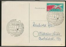 1968 East Germany Space Postal Card FDC Vostok 1 Leaving the Earth