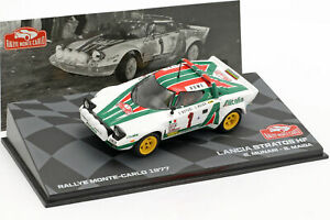 Eaglemoss Rallye Monte Carlo Lancia Stratos HF Munari 1977 IXO 1/43
