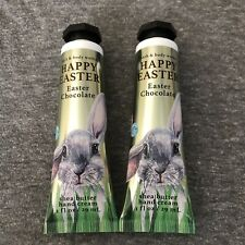 bath and body works 2 Easter Chocolate Hand Cream 1 Oz Each