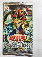 YuGiOh Konami Metal Raiders 1st Edition SEALED Booster Pack ASIAN ENGLISH