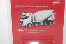 Herpa 013147 Veicolo Minikit Mercedes-benz Arocs M calcestruzzo (k5e)