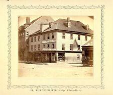 Halifax Nova Scotia Photographer - 1870 - Joseph S. Rogers - business R Pickford