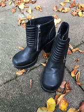 Damen Schuhe Platform-Ankle-Boots Stiefeletten Divided by H&M EUR 41 US 9,5