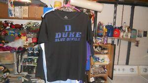 YOUTH DUKE BLUE DEVILS BLACK T-SHIRT SIZE XL NICE CONDITION