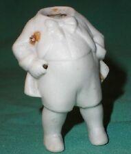 "dollhouse doll-body fora man porcelain antique 2.23"""