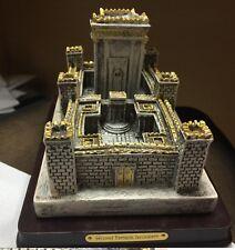 Judaica The Second Temple of Jerusalem Sculpture