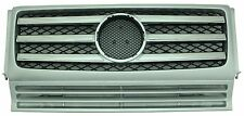 Mercedes Benz G-Class W463 90-12 Front Grille G500 G550 G55 AMG Chrome & Silver