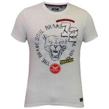 Magliette da uomo bianche Brave Soul taglia XL